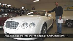 bentley garage 2007 bentley gtc for sale with test drive driving sounds and