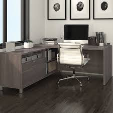 L Shape Desks Mercury Row L Shape Executive Desk Reviews Wayfair