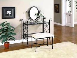 spectacular wrought iron bathroom mirrors large oval wrought iron