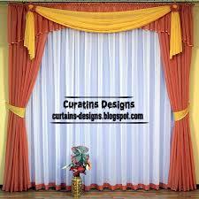 Contemporary Orange Curtains Designs Contemporary Orange Curtains Inspiration Mellanie Design