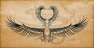 eagle wing tribal tattoo images eagle tribal tattoo design by