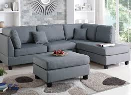 claire leather reversible sectional and ottoman sectional with ottoman joneshousecommunitycenter org