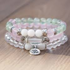 crystal quartz bracelet images Fertility pregnancy beyond meditation bracelets injewels JPG