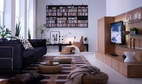 Chocolate Brown Carpet Decorating Living Room Ikea Living Room Decoration Modern Chocolate Brown
