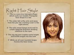 triangle and rectangular face hairstyle female hair styles that flatter your face shape
