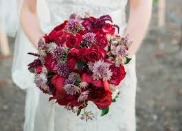 15 bridal bouquets in valentine inspired shades inside weddings