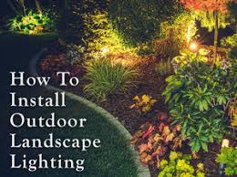 How To Install Outdoor Landscape Lighting Planning Your Low Voltage Outdoor Landscape Lighting 1000bulbs
