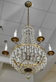 Cristal Chandelier by 19th Century Antique French Crystal Chandelier Jean Marc Fray