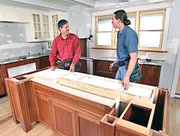 how to install kitchen island cabinets kitchen island base cabinets kitchen island with microwave redo a