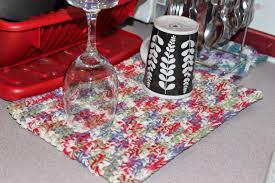 jewlyn u0027s crochet dish drying mat
