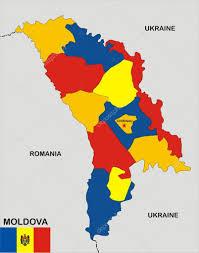 Moldova Flag Moldova Map U2014 Stock Photo Tony4urban 10780089