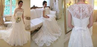 ivory lace wedding dress gorgeous white ivory lace wedding dress bridal gown custom size4 6