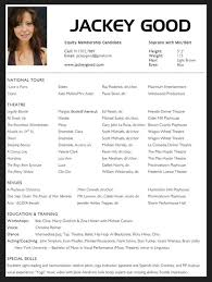 acting resume template for microsoft word gallery of acting resume templates