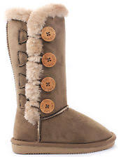 womens shearling boots size 12 shearling boots ebay