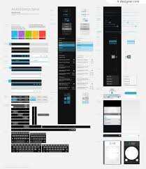 android gui designer 4 designer android series 1 android gui psd material