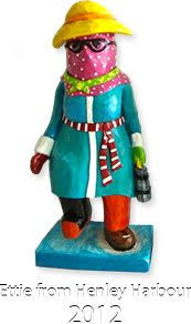mummer hanging ornament made in newfoundland ornament