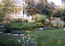 Informal garden winnetka illinois eclectic garden chicago