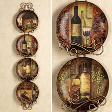 kitchens wine and grape decor for kitchen decorative plates for