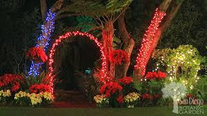 Quail Botanical Gardens Encinitas California Experience A White Bright At Garden Of Lights Nbc 7