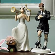 hockey cake toppers number one fan cheering wedding cake topper