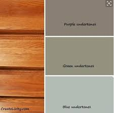 great color base information for accenting the honey oak kitchen