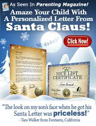 personalized letter from santa personalized letter from santa santa letter store