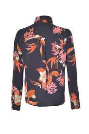 s blouse vero moda aya l s floral print blouse in black iclothing
