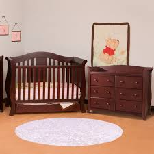 Child Craft Crib N Bed by Storkcraft 2 Piece Nursery Set Vittoria Convertible Crib And