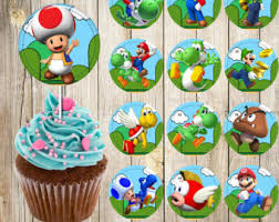 Super Mario Decorations Super Mario Bros Etsy