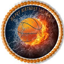 basketball cake topper basketball edible cake and cupcake topper edible prints on