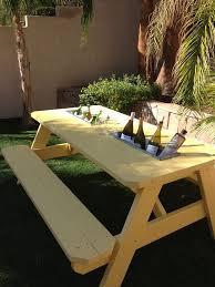 Best 25 Octagon Picnic Table Ideas On Pinterest Picnic Table by Best 25 Picnic Table Cooler Ideas On Pinterest Outdoor Ideas
