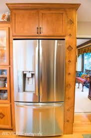 kitchen fridge cabinet best 25 refrigerator cabinet ideas on pinterest kitchen