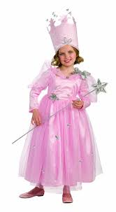 ballerina halloween costume amazon com wizard of oz super deluxe glinda dress and crown
