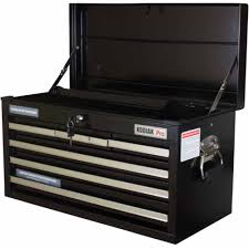 professional tool chests and cabinets kodiak pro 26 6 drawer tool chest walmart com