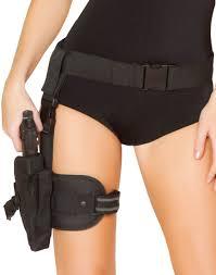 cop halloween costumes g4333 gun leg holster with belt large jpg 865 1100 clothing