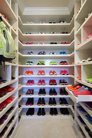 khloe kardashian u0027s luxurious sports closet lisa adams hgtv