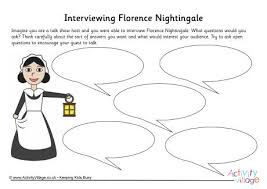 florence nightingale interview worksheet