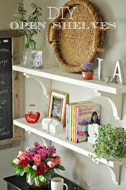 Corbels For Shelves Kitchen Open Shelf Reveal A Lo And Behold Life