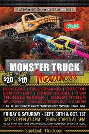 monster truck madness tickets stockton ca united states
