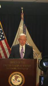 Baltimore Flag As Crime Surges In Baltimore Sessions Backs Immigration Actions