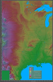Elevation Map Of United States by Shaded Relief Maps Of The United States