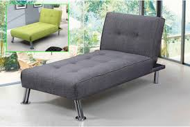 Modern Single Couch Chair New York Fabric Chaise Longue Grey Sofa Beds