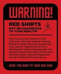 Star Trek Red Shirt Meme - image result for star trek redshirt memes uhura and scotty sci