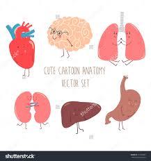 Cartoon Human Anatomy Lungs Organ Clipart Free Lungs Organ Clipart