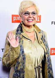 new look for roseanne barr 2015 with blonde hair roseanne barr shows off platinum blonde do at tribeca film festival