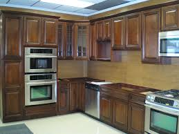 Traditional Dark Wood Kitchen Cabinets Furniture Exciting Woodmark Cabinets With Glass Door And Mosaic