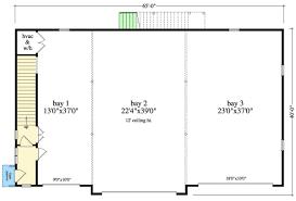tandem garage plans room dimensions 3 car size square feet