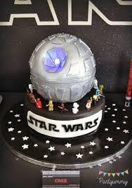 a boy u0027s lego star wars 6th birthday party spaceships and laser beams