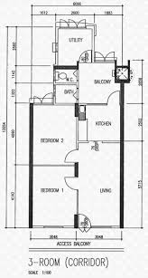 Scale Floor Plan by Floor Plans For Lorong 7 Toa Payoh Hdb Details Srx Property