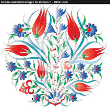 Ottoman Design Ottoman Design Isolated Vector Yayimages